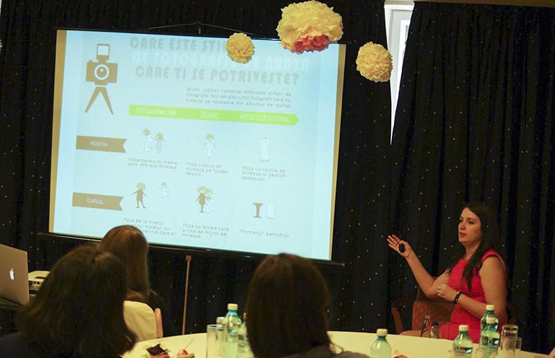 Karin Badea - wedding planner certificat international la workshop-ul de nunta SaveTheDate.ro