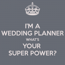Wedding planner super power