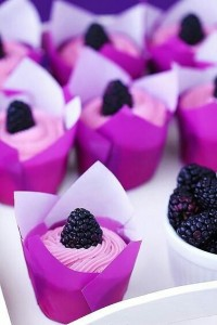 Candybar Radiant Orchid - Cupcakes