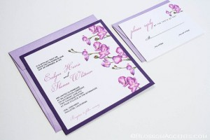 Invitatie de nunta Radiant Orchid