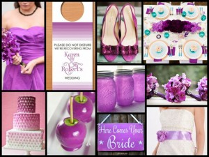 Pantofi de mireasa Radiant Orchid 2