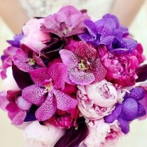 Buchet de mireasa Radiant Orchid