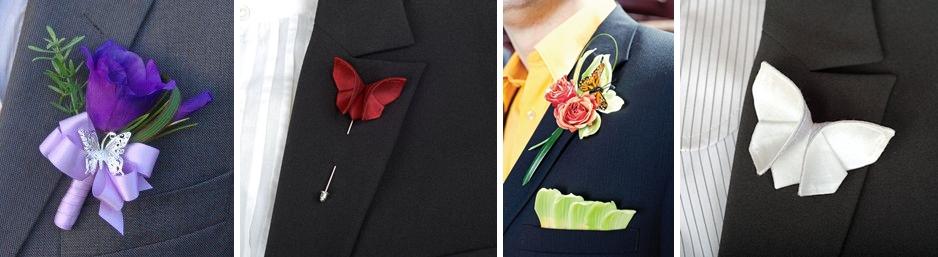 Tinuta mire pentru nunta cu tema fluturi