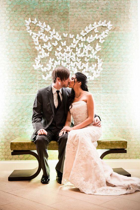 Nunta cu tema fluturi
