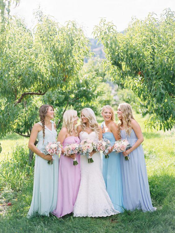 Idei pentru o nunta in culorile anului 2016 - rose quartz si serenity