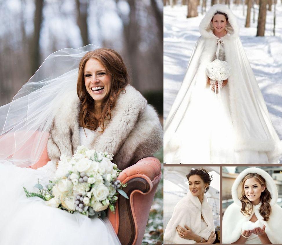 Rochie de mireasa pentru nunta de iarna cu tema Winter Wonderland
