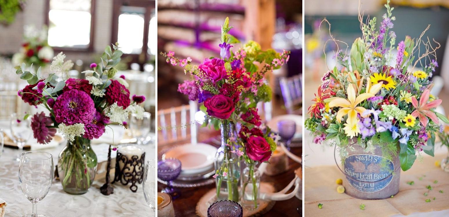 Idei aranjamente pentru nuntile anului 2016