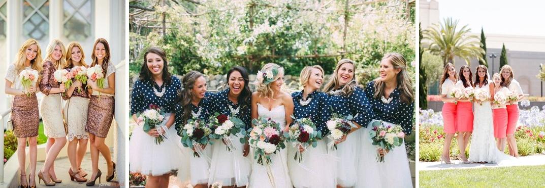 Idei tinute pentru domnisoarele de onoare pentru nuntile anului 2016