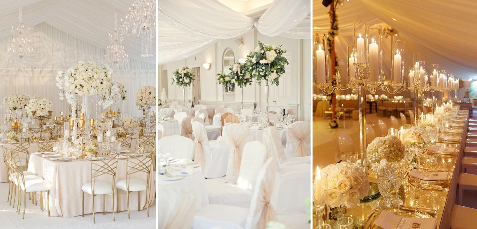 Decor nunta glamour