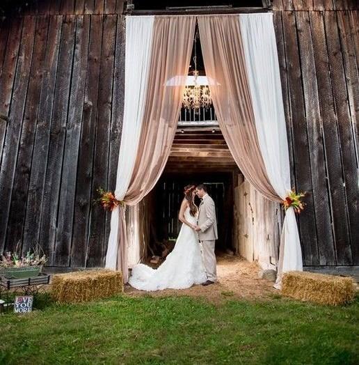 Nunta rustica outdoor