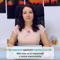 Workshop pentru mirese by Karin Badea