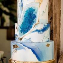Trend torturi de nunta: geode cake